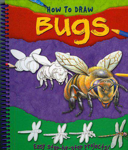 How To Draw Bugs [Spiral-bound]  (Miles Kelly Publishing)